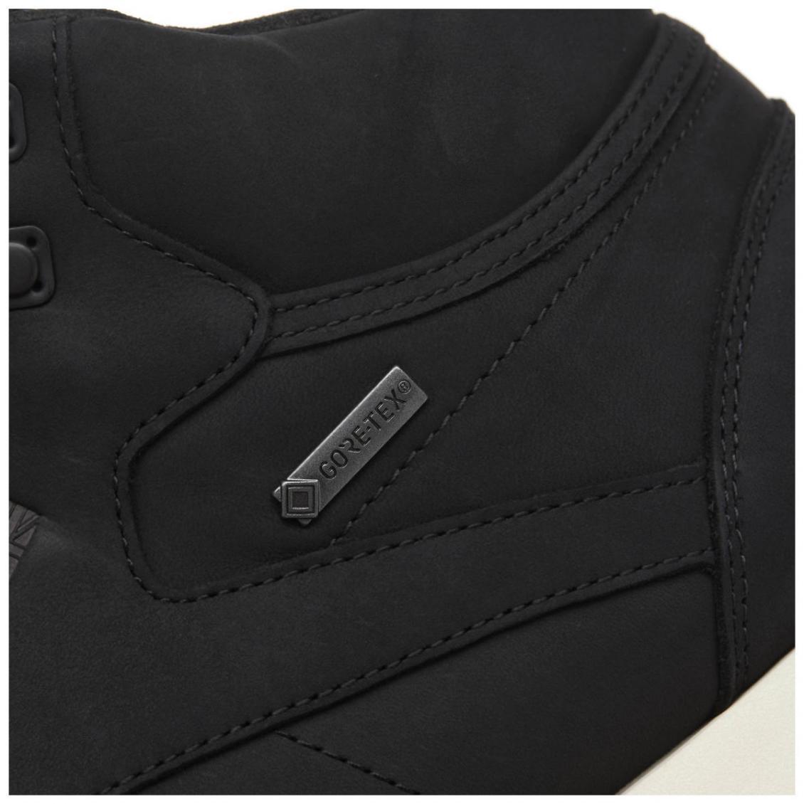 Black – Reebok Classic Leather Mid GTX-THIN Mens Black / Paper White / Gum