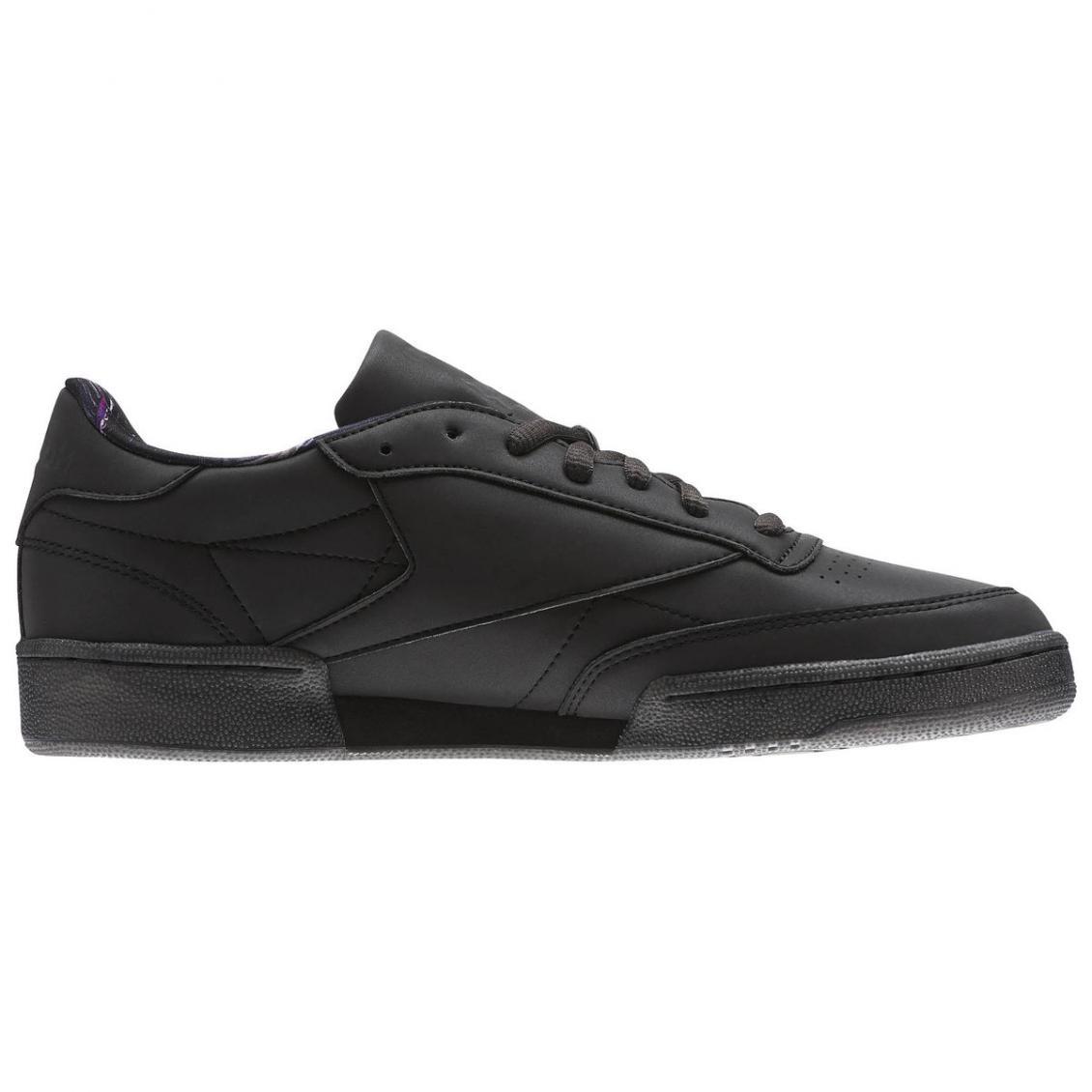 Black – Reebok Club C 85 TDG Mens Black / Silver Met / Coal