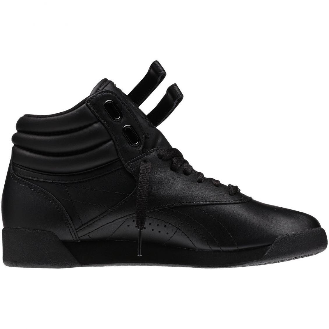 Black – Reebok Freestyle Hi Womens Black / Black / Black