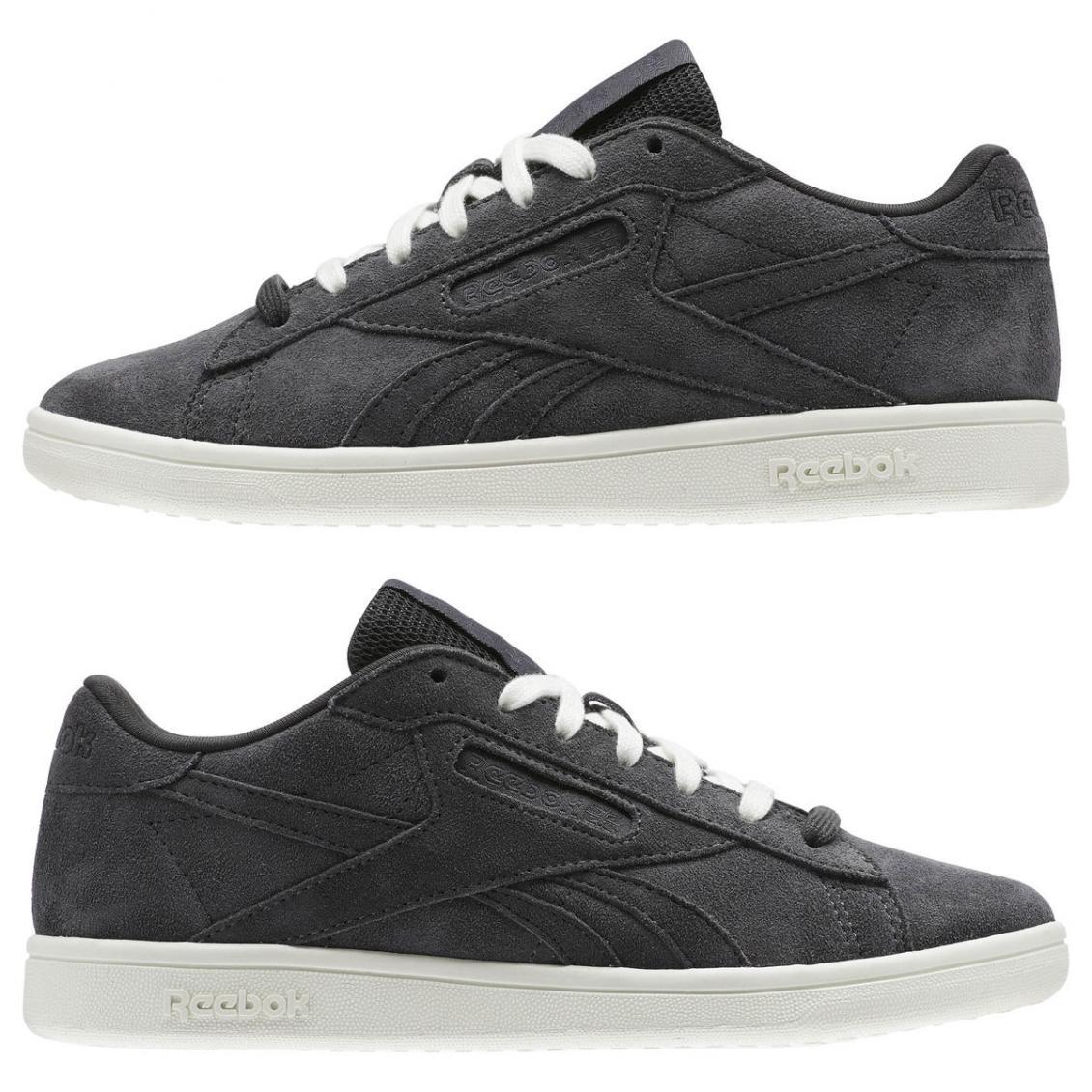 Black – Reebok NPC UK Leather Womens Coal / Chalk