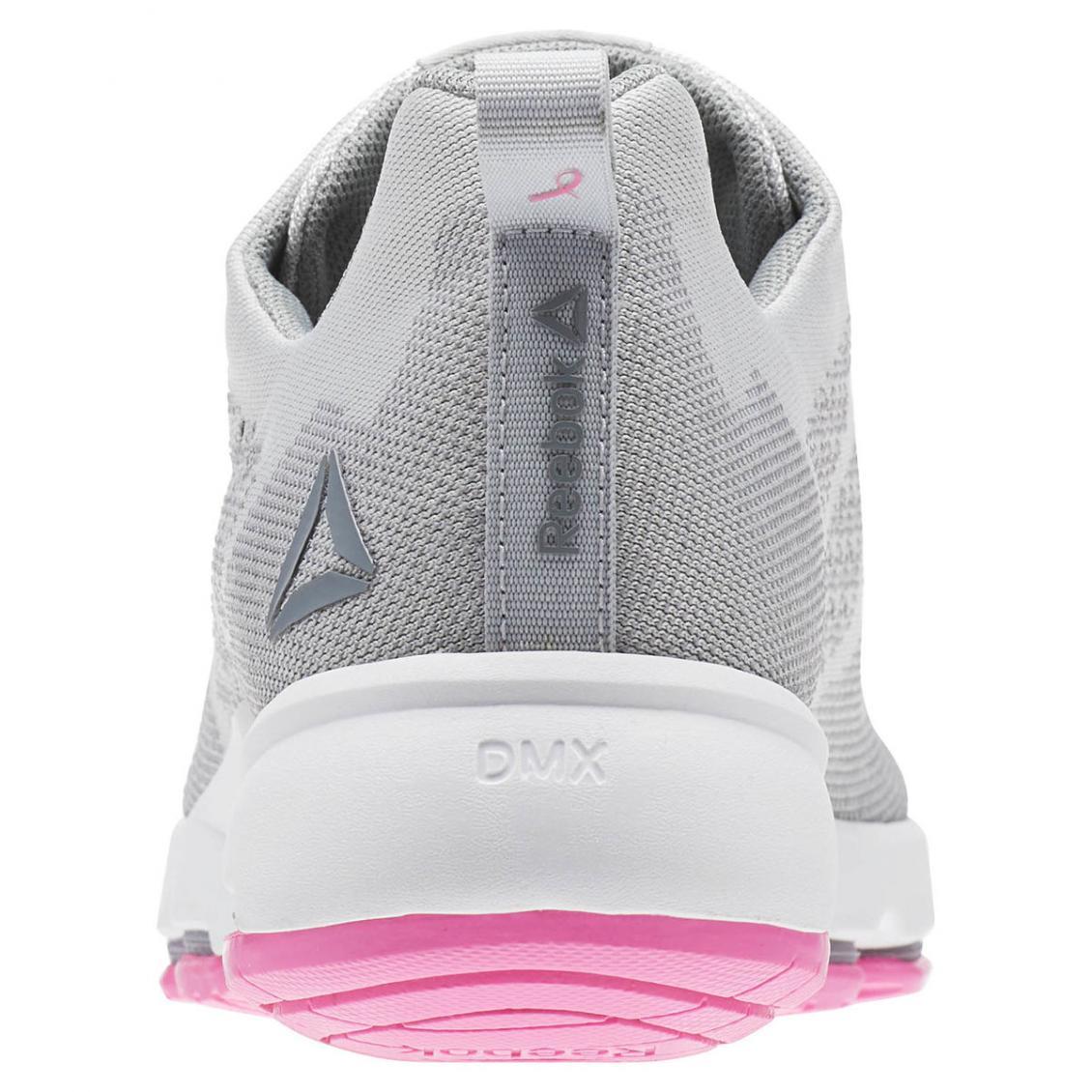 Grey – Reebok CloudRide LS DMX Womens Skull Grey / Flat Grey / White / Poison Pink