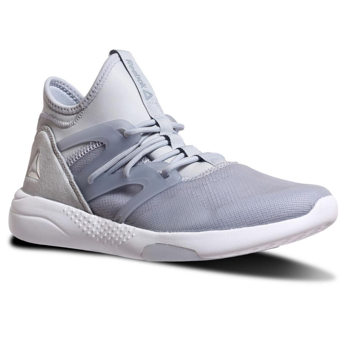 Grey – Reebok X FACE Stockholm Hayasu Womens Cloud Grey / Meteor Grey / Silver Met / White / Electric Flash