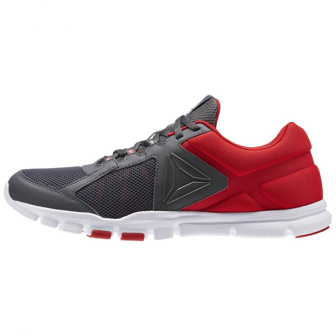 Red – Reebok Yourflex Train 9.0 MT Mens Primal Red / Ash Grey / White