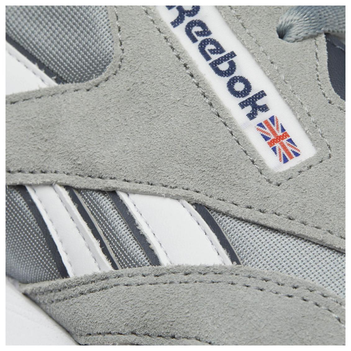 Silver – Reebok Classic Nylon Mens Platinum / Blue