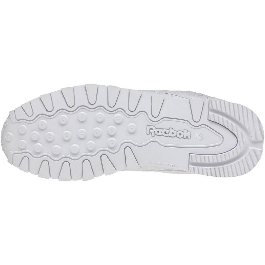 White – Reebok Classic Leather – Grade School Kids White White White