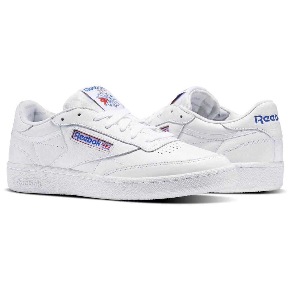 White – Reebok Club C 85 SO Mens White Light Grey Heather