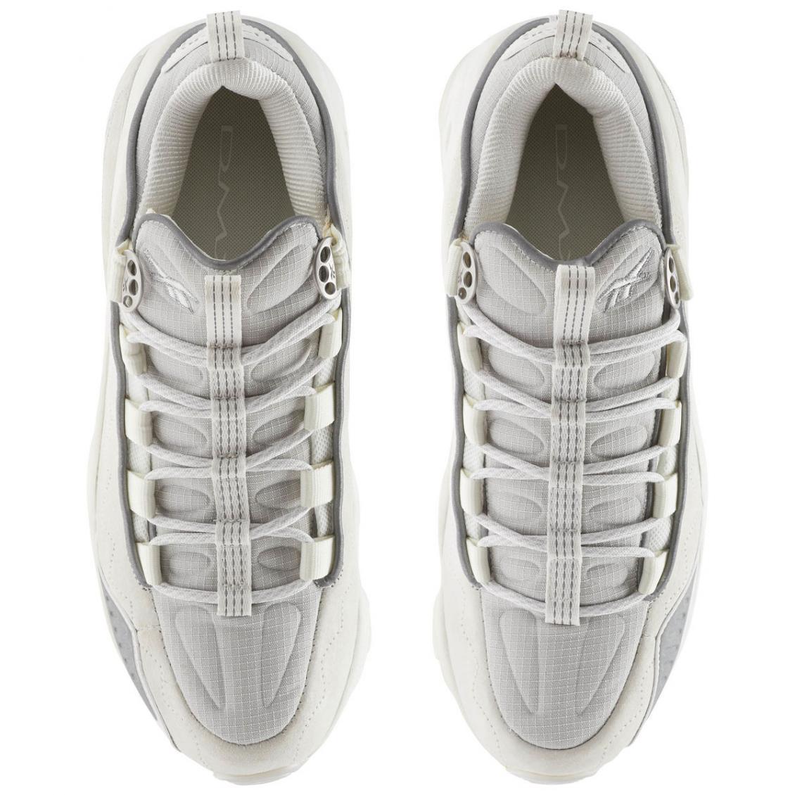 White – Reebok DMX Run 10 SE Mens Chalk / White / Ice
