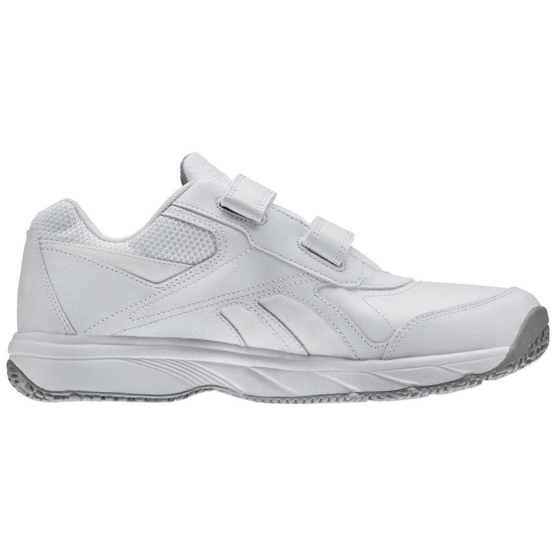 White – Reebok Work N Cushion KC 2.0 Mens White Flat Grey
